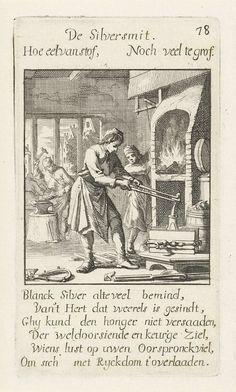 Zilversmid, Jan Luyken, 1694