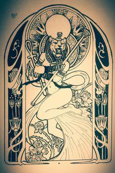 Heya Lady Sekhmet! ❤ Ascenda a chama que nos conecta entre os mundos! Ancient Egyptian Religion, Egyptian Mythology, Egyptian Goddess, Ancient Aliens, Ancient History, Goddess Tattoo, Goddess Art, Bastet Tattoo, Hamsa Tattoo
