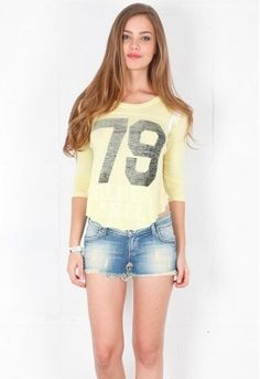 Rebel Yell Throwback Jersey - Buttercup