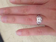 Antique 1920's engagement ring