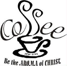 Would you like to bring the word of god into your Coffee shop, Kitchen, Or Cafe? One of our Christian Wall Decals will help you express your faith without saying a word! Coffee Bar Home, Coffee Bar Signs, Coffee Cafe, Coffee Nook, Coffee Truck, Cajas Silhouette Cameo, Coffee Aroma, Coffee Theme, Coffee Shop Design