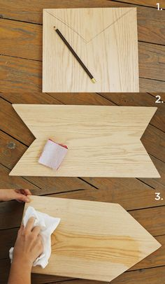 easy DIY cutting board - would be a pretty Christmas present! #gift #DIY #holiday