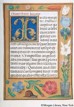 Book of Hours, MS M.399 fol. 114r - Images from Medieval and Renaissance Manuscripts - The Morgan Library & Museum