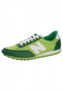 Outlet Collection of Mens New Balance U410 Retro Sneakers Green, Deep Green, White UK Online Retailers