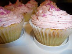 Completely Lactose-Free Cupcakes. And they actually tasted good!
