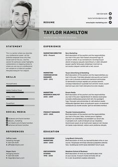 Professional Resume template / CV template with free Cover letter template / MS ---CLICK IMAGE FOR MORE--- resume how to write a resume resume tips resume examples for student Free Cv Template Word, Cv Templates Free Download, Resume Design Template, Creative Resume Templates, Design Resume, Cv Design, Layout Design, Curriculum Vitae Download, Curriculum Vitae Online