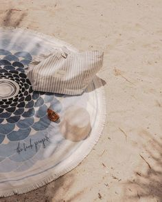 Our Co-Founder seaside style 💙 Featuring our Deiá Roundie & Upcycled Tote The Beach People, Velour Tops, Seaside Style, Beach Accessories, Hand Illustration, Beautiful Hands, Beach Towel, About Me Blog, Cover
