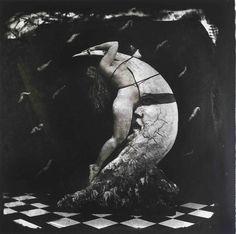 Woman Masturbating on the Moon, NM, 1982 Joel Peter Witkin Джоэл-Питер Уиткин