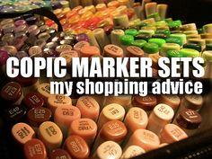 Copic Marker Sets: Shopping advice - Sandy Allnock