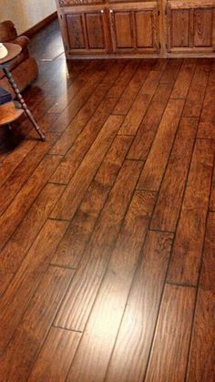 Laminate flooring is all installed.