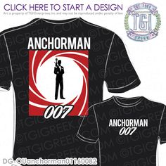 TGI Greek - Delta Gamma - Anchorman - Greek T-shirt #tgigreek #deltagamma