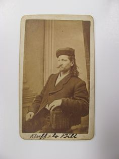 A rare Wild Bill Hickok cdv to Cowan's Upcoming Civil War / American History Featuring the West Auction, taking place June 11, 2010. The pho...
