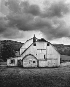 """Dairy barn, Jefferson from """"Time Wearing Out Memory - Schoharie County"""" by Steve Gross and Susan Daley."""