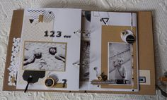 Anne : Album Chic et Kraft Album Photo Scrapbooking, Mini Albums Scrapbook, Packs Papier, Chic, Diy And Crafts, Blog, Cards, Passion, Minis