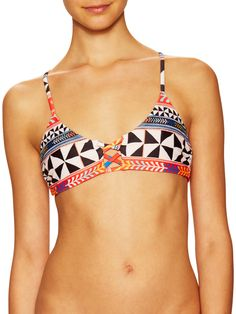 Mara Hoffman Reversible Pinwheel Bikini Top