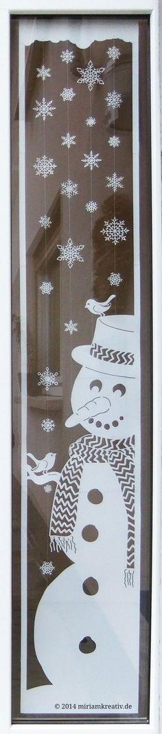 Wintersdoor_winterdoor Silhouette Cameo + SVG file pinned by … - Diy Winter Deko Christmas Art, Winter Christmas, Winter Diy, Christmas Ideas, Diy And Crafts, Paper Crafts, Christmas Window Decorations, Kirigami, Christmas Inspiration