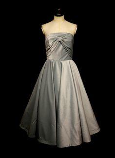 Blush Blue Velvet Cocktail Dress