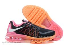 http://www.getadidas.com/nike-women-air-max-2015-black-orange-pink-running-shoes-cheap-to-buy.html NIKE WOMEN AIR MAX 2015 BLACK ORANGE PINK RUNNING SHOES CHEAP TO BUY Only $69.00 , Free Shipping!