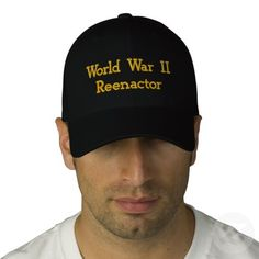 World War II   Reenactor Baseball Cap