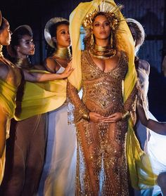 At the Grammys, Beyonce paid an epic tribute to Afro-diaspora spirituality — Quartz