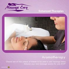 Aromatherapy from Massage Envy Clearwater