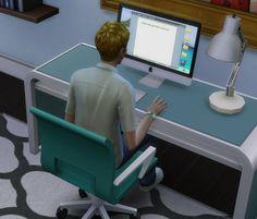 Mod The Sims - Pear simMac (Apple iMac)