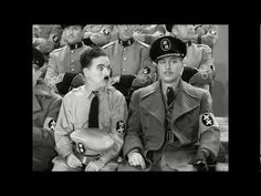 In 1940, a movie was released starring Charlie Chaplin (who also wrote the piece) about a poor Jewish barber who is mistaken for a dictator of a similar appe...