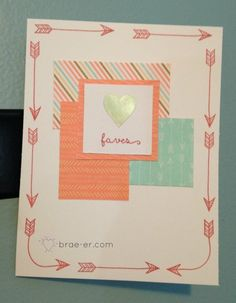 January Brae-er's Team Blog Hop- Year Noted Paper - The Brae-er