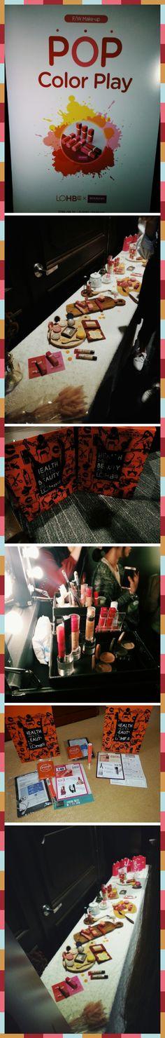 Big Pleasure Beauty Event; POP COLOR PLAY by LOBHs × BOURJOIS paris @Lotte World Tower