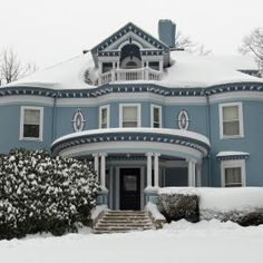 Beautiful Victorian style house-