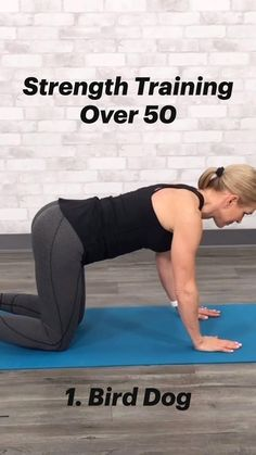 Gym Workout Videos, Easy Workouts, Fitness Workout For Women, Fitness Diet, At Home Workout Plan, At Home Workouts, Senior Fitness, Workout For Beginners, Strength Training