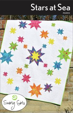 "Size: 60"" x 72""Fat Quarter Friendly.This pattern uses the Creative Grids® Multi-Size Flying Geese Ruler (#CGRMSF4590)."