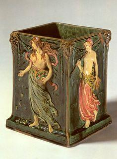 Vase de Karl Maximilian Würtenberger, 1904, Karlsruhe