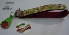 DIY Paket Schlüsselband kurz Blumen + Einkaufschip von ஐღKreawusel-aufgehübscht✂ஐ  auf DaWanda.com