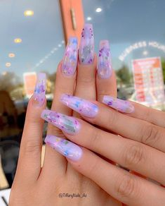 In search for some nail designs and ideas for your nails? Here is our set of must-try coffin acrylic nails for trendy women. Summer Acrylic Nails, Best Acrylic Nails, Aycrlic Nails, Swag Nails, Coffin Nails, Grunge Nails, Milky Nails, Lavender Nails, Kawaii Nails