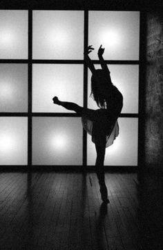 Dance silouette