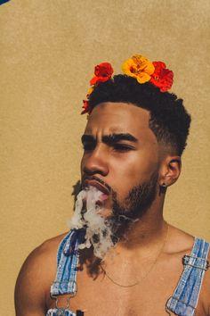 Sharing photos of black men to combat the erasure in the beard movement. Black Is Beautiful, Beautiful Boys, Pretty Boys, Beautiful People, Black Man, Black Boys, Afro Punk, Afro Art, Black Power