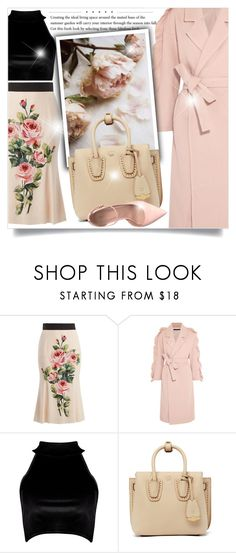 """""""Untitled #794"""" by beautifulplace ❤ liked on Polyvore featuring Dolce&Gabbana, Mother of Pearl, Boohoo, MCM and ALDO"""