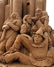 Oz. Sand Sculpting Australia - Frankston Waterfront 26/12/2013