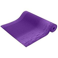 """Amazon.com : Yoga Spirit Mat 1/4""""x72"""" Extra Thick 3 Colors SGS Approved Non-Toxic No Phthalates or Latex by Bean Products - Purples : Sports & Outdoors"""