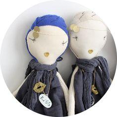 poupée écrue de Jess Brown .:serendipity.fr:.