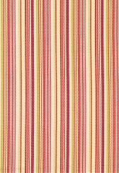 Fabric | Malibu Stripe in Cerise | Schumacher