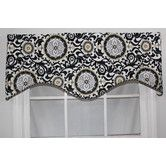 Found it at Wayfair - Celestial Shaped Cotton Rod Pocket Scalloped Curtain Valance