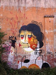 Street art | Mural by Reka One [aka James Reka]