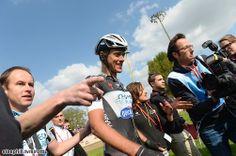 2014 paris-roubaix photos - Niki Terpstra (Omega Pharma - Quick Step) post-race