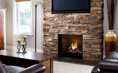 Fireplace Products: Ventana Series - Valor Radiant Gas Fireplace Products