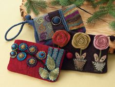 Pretty clutches and wristlets at Acacia...very pretty