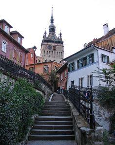 Sighisoara, Romania - Birthplace of Vlad the Impaler (aka Dracula)