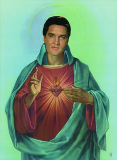 Sacred Heart of Elvis.