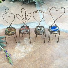 Mini Bottle Cap Chairs